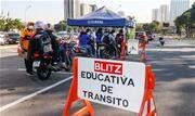 Iniciativa contará com blitz educativa voltada para motociclistas e pedestres em todo território da cidade - Continue lendo