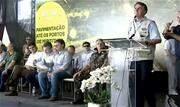 """Em discurso na inauguração de trecho pavimentado da BR-163, Bolsonaro voltou a dizer que a reeleição não é fonte de preocupação. Ele acredita que é """"algo natural"""", advinda do trabalho - Continue lendo"""