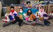Cobertores novos doados por munícipes serão distribuídos para a população pelas entidades sociais - Continue lendo