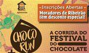 As inscrições para a 3ª edição da Choco Run, a corrida e caminhada do tradicional Festival do Chocolate de Ribeirão Pires, estão abertas, com desconto promocional para moradores da cidade - Continue lendo