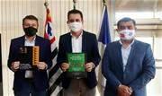 Prefeito Paulo Serra recebeu presidente do consórcio da região do Alto Tietê e prefeito de Suzano, Rodrigo Ashiuchi - Continue lendo