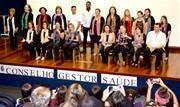 Nesta quarta-feira (13/11), 120 membros dos 29 Conselhos Gestores dos Serviços de Saúde tomaram posse para a gestão 2019-2021. A cerimônia foi realizada no auditório do Quarteirão da Saúde - Continue lendo
