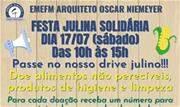 Festa Julina Solidária acontece neste sábado  (17/7), das 10h às 15h - Continue lendo