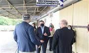 Material, destinado à lavagem de tecidos nos equipamentos de Saúde, foi recebido pelo prefeito Orlando Morando na manhã desta sexta-feira (07/05) - Continue lendo