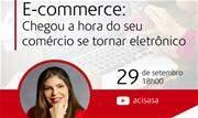A palestra será realizada por meio do canal do YouTube ACISASA - Continue lendo