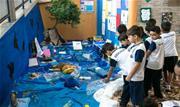 Alunos da Escola Municipal de Ensino Fundamental 28 de Julho, localizada no Bairro Barcelona, resolveram adotar o problema do lixo marinho como tema de pesquisa no Mês do Meio Ambiente - Continue lendo