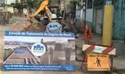Obras são executadas pela BRK Ambiental em vários bairros do município, que foi um dos que mais recebeu investimentos no setor na região metropolitana de São Paulo - Continue lendo