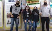 A equipe, que é composta pelos alunos Milena Ferreira de Lima, Paloma Caroline de Oliveira e Kauê Gonçalves Pereira, sob orientação do professor Higor Souza de Almeida - Continue lendo
