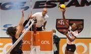 Com destaque da levantadora Fabiola, eleita a melhor do jogo, equipe carioca garantiu mais três pontos na classificação - Continue lendo