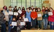 Moradoras receberam certificado de conclusão de cursos promovidos gratuitamente em parceria com o Sebrae/SENAI e apoio do Fundo Social da cidade  - Continue lendo