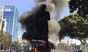Equipe do Corpo de Bombeiros foi enviada ao local às 14h06 e o fogo foi extinto rapidamente. Ninguém foi detido - Continue lendo