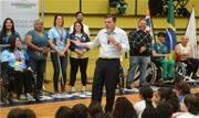 Com objetivo de reforçar importância da data, prefeito Orlando Morando participou do último dia de realização da ação no Crec Baetinha - Continue lendo