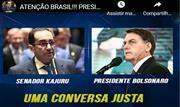 Bolsonaro reclamou nesta segunda-feira, 12, da divulgação de um telefonema seu com o senador Jorge Kajuru (Cidadania-GO) - Continue lendo