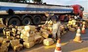 A Polícia Rodoviária Federal (PRF) apreendeu 2.832,7 quilos de maconha em Santa Terezinha de Itaipu, na região oeste do Paraná - Continue lendo