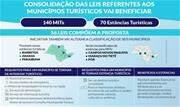 Proposta do Executivo em tramitação na Alesp também consolida a legislação referente aos municípios turísticos do Estado - Continue lendo