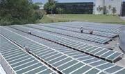 A Natura concluiu a instalação do maior conjunto de painéis solares orgânicos do mundo no telhado de um dos prédios de sua sede em Cajamar, na região metropolitana de São Paulo - Continue lendo