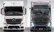 A Mercedes-Benz apresenta na Europa a versão F do Actros, mais despojada, e também a série especial Edition 2, que aprofunda o requinte da geração atual - Continue lendo