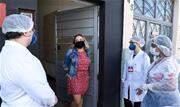 Ariana Tavares dos Santos é um dos 246 moradores infectados pelo coronavírus na cidade e que já estão curados - Continue lendo