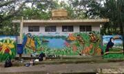 Ação voluntária ocorreu neste domingo (16) em parceria com grafiteiros e jovens de paróquia da região - Continue lendo