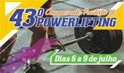 Entre os dias 6 e 9 de julho, acontece a 43ª edição do campeonato, organizado pela Federação Paulista de Powerlifting, com apoio da Prefeitura - Continue lendo