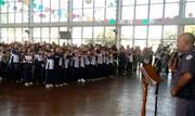 Programa Educacional de Resistência às Drogas e Violência - foi desenvolvido neste semestre nas escolas municipais Sebastião Vayego de Carvalho e Abdalla Chiedde - Continue lendo