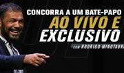 Promoção, que começou no último domingo, vai premiar cinco pessoas com a oportunidade de conversar com a lenda do MMA - Continue lendo