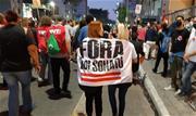 Em São Paulo, o ato ocupou parte da Avenida Paulista e foi menor e mais disperso que os anteriores - Continue lendo