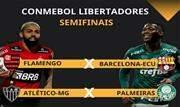 Semifinais da Conmebol Libertadores começam nesta terça-feira (21) envolvendo três equipes brasileiras - Continue lendo