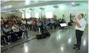 Cerca de 300 lideranças da Cooperativa estiveram presentes; as assembleias com os associados começam nesta segunda-feira (20) - Continue lendo