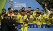 Com dois gols no fim, Brasil bate o México e conquista Mundial Sub-17 pela 4ª vez. Bryan González abriu o placar, mas Kaio Jorge, aos 38 do 2º tempo, e Lázaro, aos 47, viraram a partida - Continue lendo