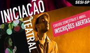 Com mais de 30 anos de existência e referência no Brasil, o Núcleo de Artes Cênicas, um dos mais expressivos programas de formação em cultura do SESI-SP, está com inscrições abertas - Continue lendo