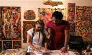 A obra do artista plástico Lumumba Afroindígena e da arquiteta Francine Moura reverencia a importância histórica de Tebas, construtor à frente de seu tempo que comprou a própria alforria - Continue lendo