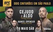 UFC® 250 terá Henry Cejudo x José Aldo, pelo peso-galo, e Amanda Nunes x Felicia Spencer, pelo peso-pena feminino. Ingressos começam a ser vendidos na quarta-feira, dia 25 de março - Continue lendo