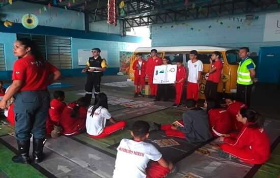 Educação no trânsito promove curso para Bombeiros Mirins de Ribeirão Pires