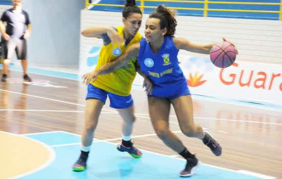 Santo André inicia disputa das quartas de final da Liga de Basquete Feminino