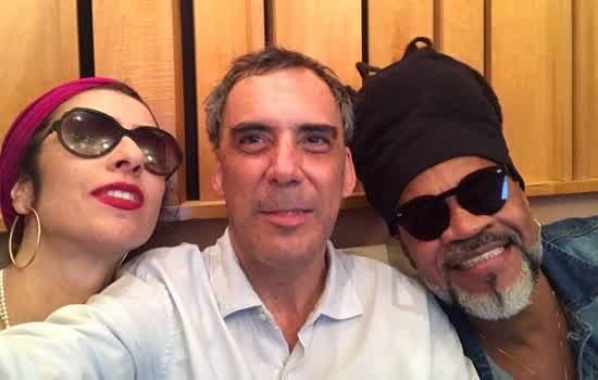 """Marisa Monte, Arnaldo Antunes e Carlinhos Brown em """"Tribalistas"""""""