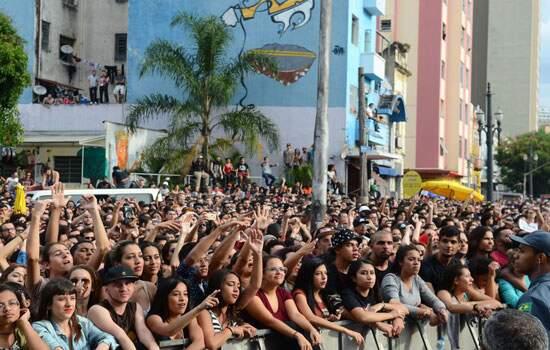 O festival promovido pela Prefeitura de São Paulo começa às 18h com Nação Zumbi abrindo o palco destinado ao rock na Avenida Rio Branco