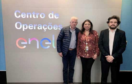 Consórcio ABC e Enel debatem ações para evitar acidentes com fiações no verão