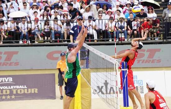 Disputa da próxima etapa será na China, com até nove duplas do país