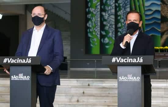 Governador João Doria e Secretário da Educação, Rossieli Soares