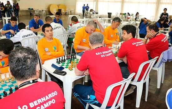 Jogos Regionais: Xadrez: masculino (4ª rodada) São Bernardo 3 x 1 Praia Grande